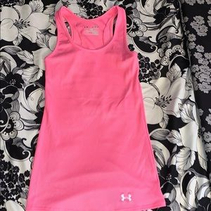 New Hot Pink Under Armour Tank Size XS